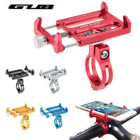 GUB 5 Colors Universal Bike Phone Stand Aluminum Bicycle Handlebar Mount Holder For iPhone Samsung Nokia Cycling Accessories
