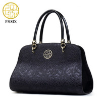 Pmsix New Designer Women Bags Fashion solid casual zipper soft High quality Handbags Solid color Contracted Women's bags P140015