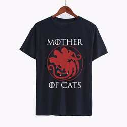 Hillbilly Casual T-shirts Mother of Cats harajuku Tees Tshirts Women Tops & Tees Short Sleeved Plus Size Female T Shirts Women 3
