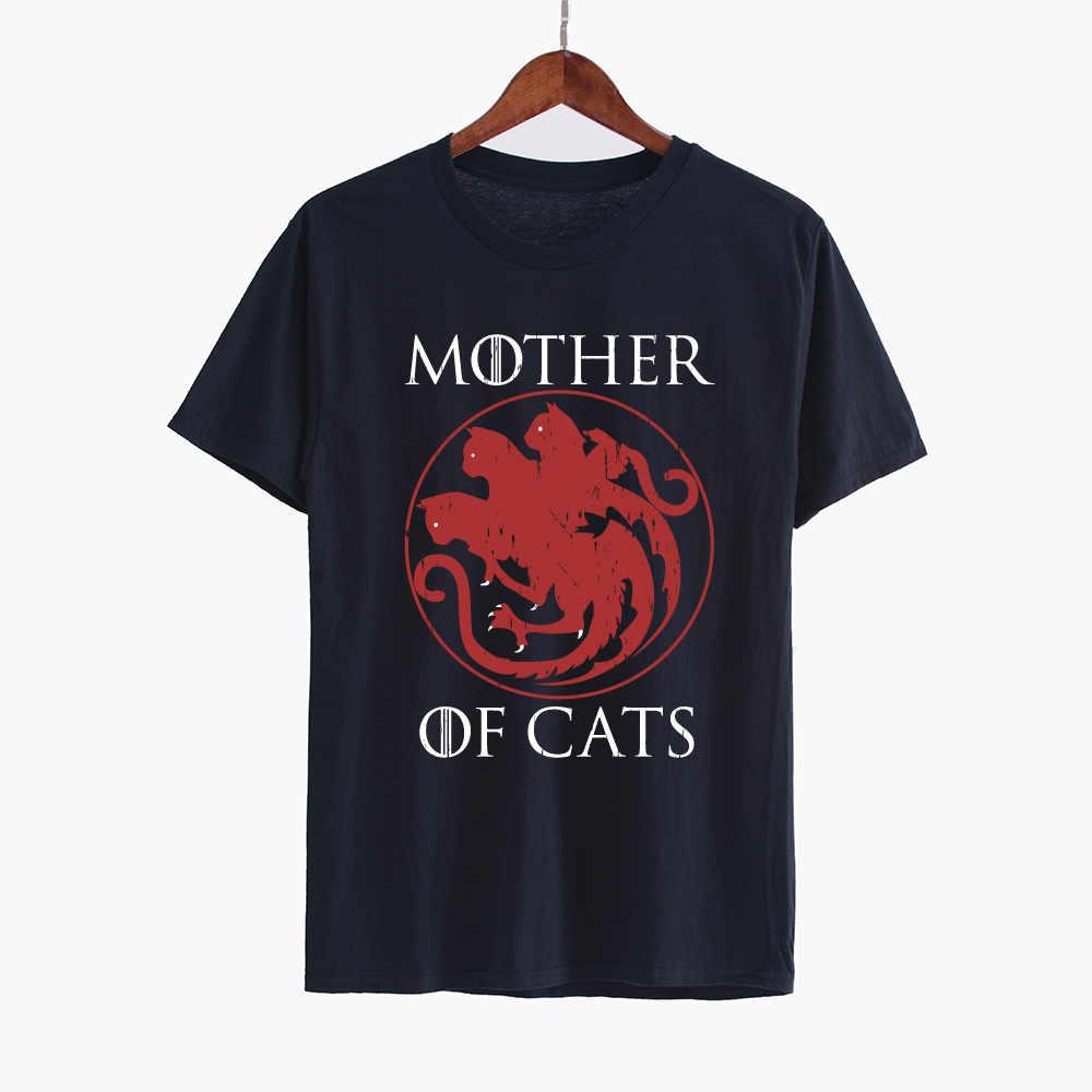 bd15723b ... Hillbilly Casual T-shirts Mother of Cats harajuku Tees Tshirts Women  Tops & Tees Short ...