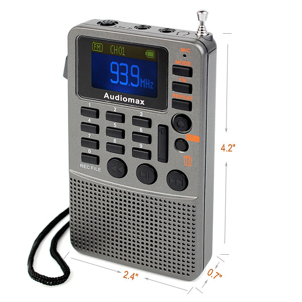 Hot Sale Handheld FM Stereo Radio Receiver (3)