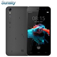 Оригинал Homtom HT16 5.0 дюймов Android 6.0 MTK6580 Quad Core 3 Г 1 ГБ RAM 8 ГБ ROM 3 Г Смартфон 8MP Камера 3000 мАч GPS Мобильного телефон