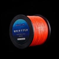 WALK FISH Lake Sea Fishing 1000m 4 Strands Braided Fishing Line 12 15 28 40 50