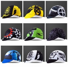 цена на Yellow Cycling Caps Men Road MTB Bike Bicycle Ciclismo hats HeadWear Sun UV Team Sports Running Helmet Inside Cap Bandana Pirate