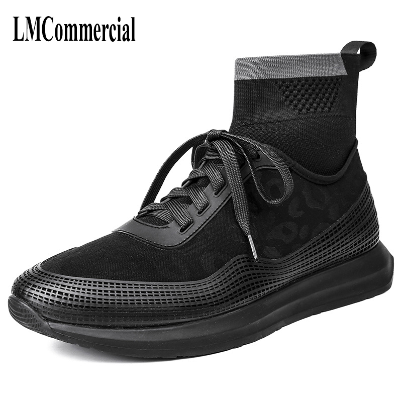 new autumn winter British retro men shoes leather socks shoes breathable sneaker fashion boots men casual shoes handmade fashion kelme 2016 new children sport running shoes football boots synthetic leather broken nail kids skid wearable shoes breathable 49