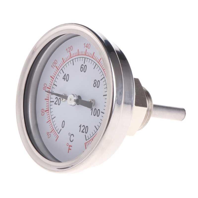 """Новый качественный 1/2 """"термометр с Циферблатом из нержавеющей стали для лунного сияния конденсатора или заварного горшка"""