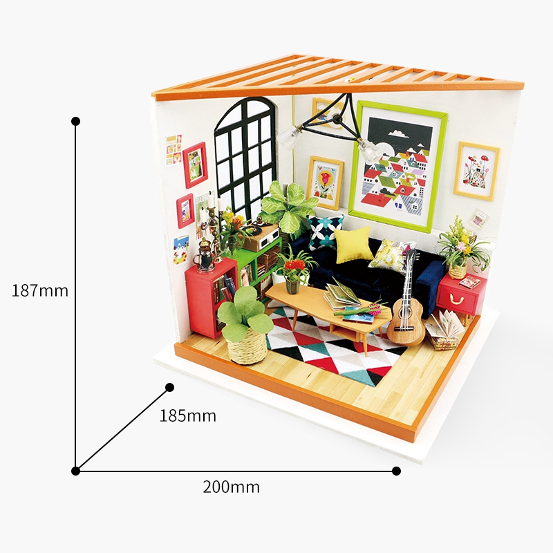 Dollhouse with Week's Wooden 2