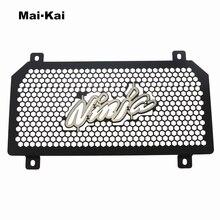 MAIKAI For KAWASAKI NINJA400 NINJA 400 2017-2019 Aluminum Motorcycle Radiator Guard Grille Protection Water Tank