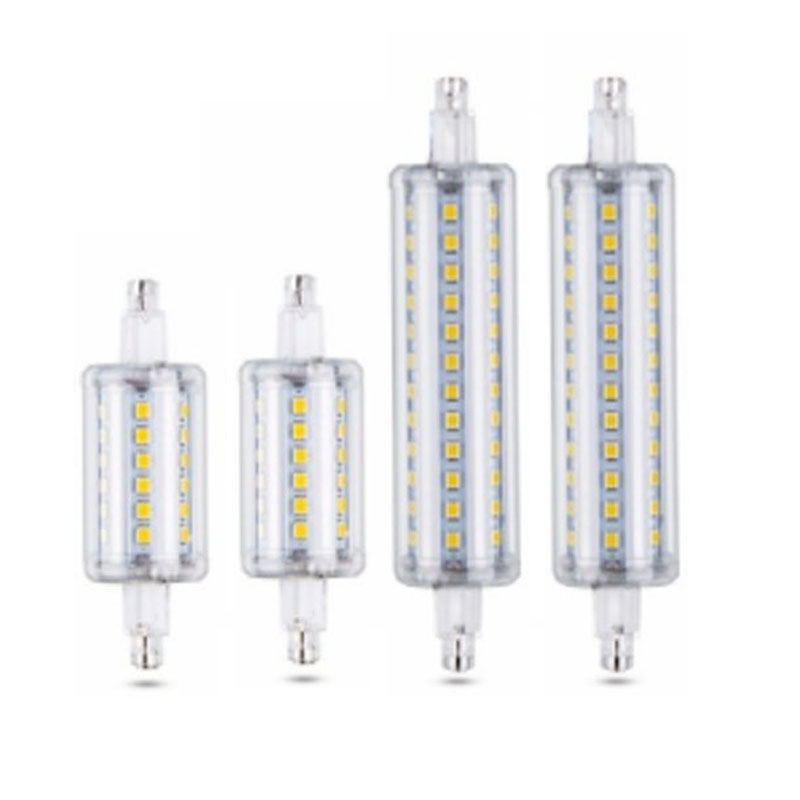 AC 110V 220V <font><b>R7S</b></font> <font><b>Led</b></font> Bulb 220V 7W 78mm 15W <font><b>118mm</b></font> <font><b>Bombillas</b></font> Lamp SMD2835 <font><b>Led</b></font> Light For Lawn Floodlight lampara <font><b>led</b></font> image