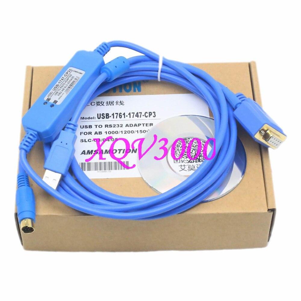 Kabel do programowania USB RS232 zestaw 1747 CP3 1761 CBL PM02 Allen ...
