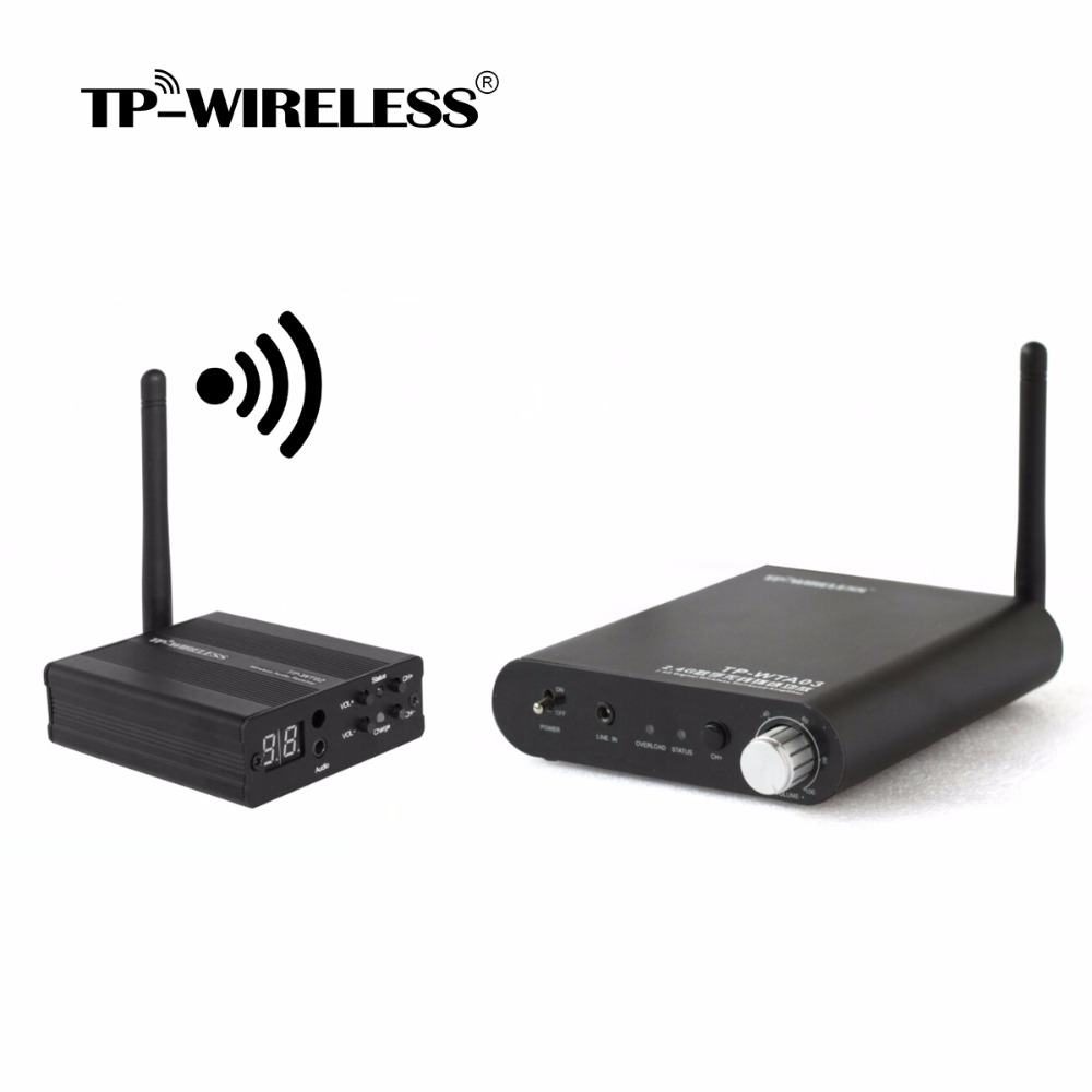 TP-WIRELESS Wireless Digital Rear Stereo Surround Audio Home Theater Amplifier for 5.1 Home Theater System Solving Wire Problem фото