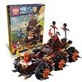 Lepin 14018 8017 nexus caballeros asedio máquina kits de edificio modelo compatible con lego city 3d bloques educativos juguetes para niños
