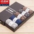 5 par/lote 2016 marca moda de alta calidad calcetines de lana hombres invierno de la cachemira calcetines transpirables 5 colores con venta caja de regalo caliente
