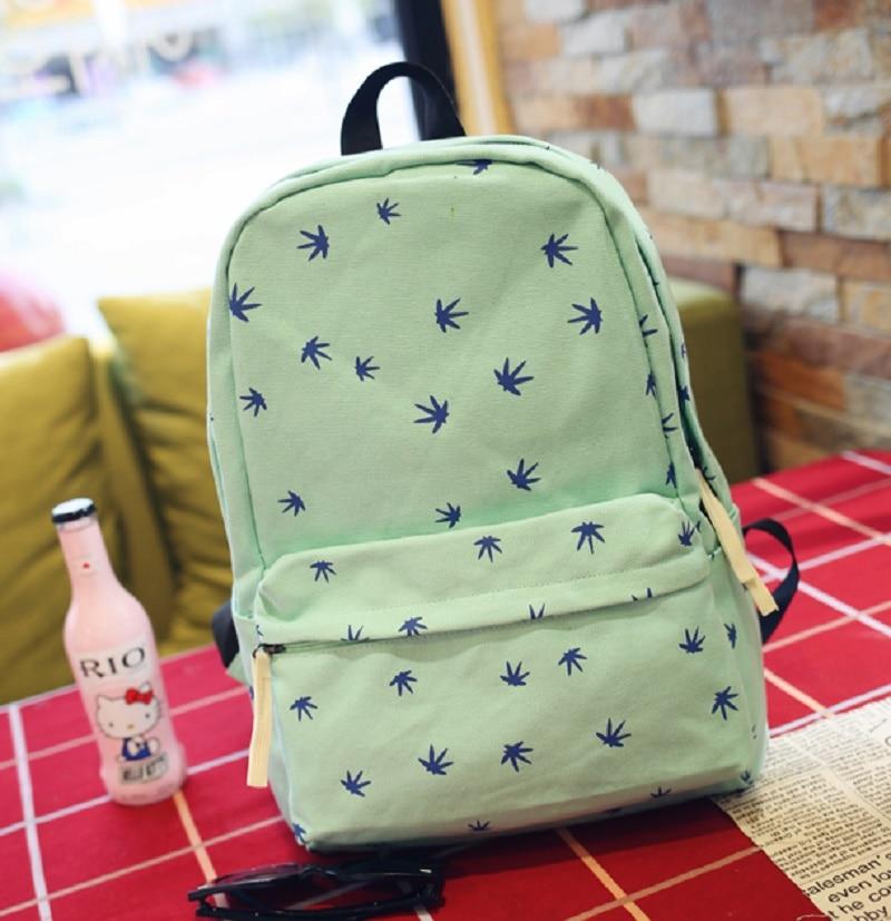 Canvas printing children school bag kids travel backpacks mochila infantil  escolar bolso bolsa feminina for teenagers girls boys d3d3b52353