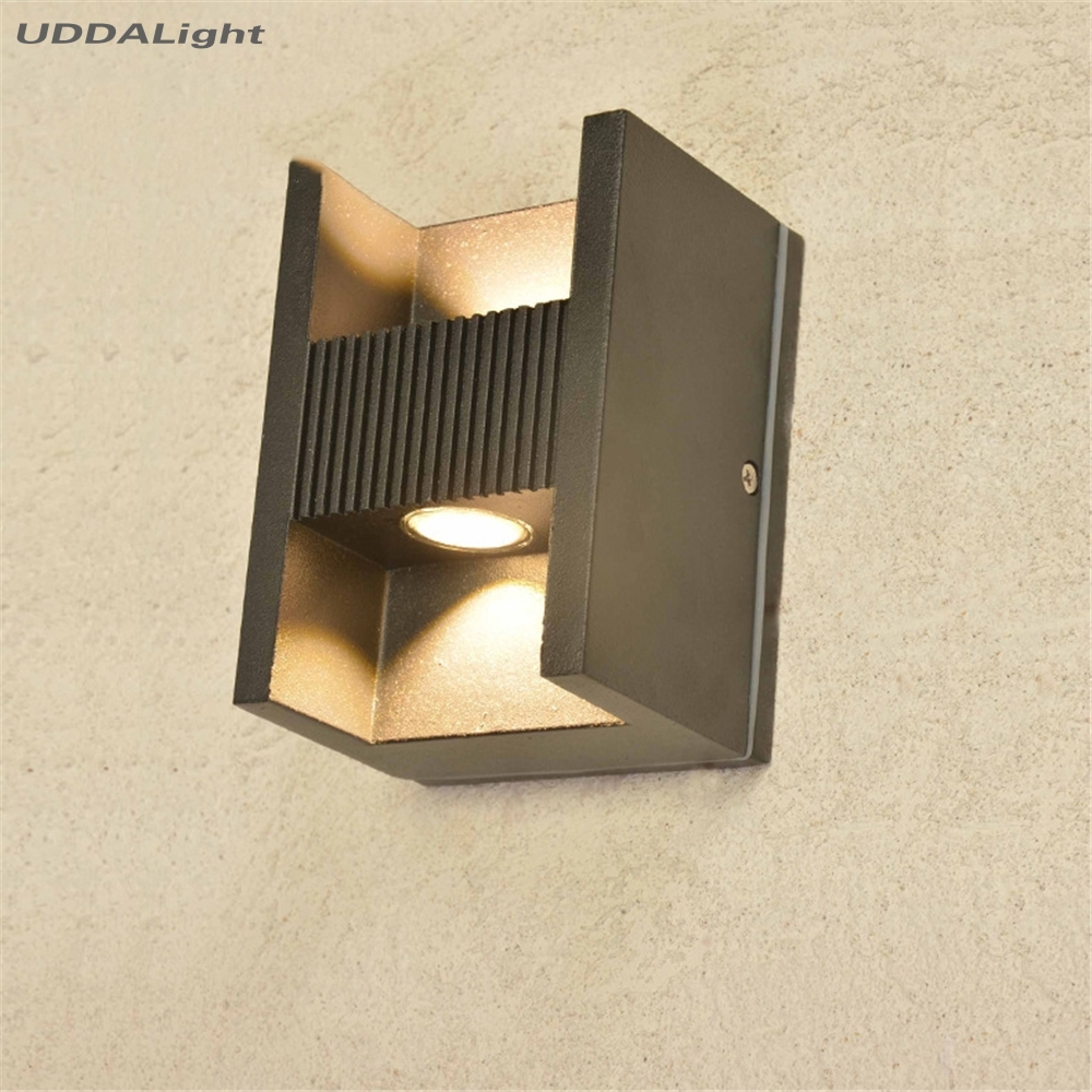 Led-lampen Led Outdoor-wandlampe Wand Lampe Im Freien 10 Watt Lampara Außen Cob Led Up Down Beleuchtung Indoor/outdoor 30% Off