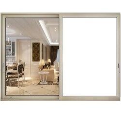 90x200 cm białe  nieprzezroczyste matowe okno prywatności odcienie usuwania dekoracja okienna blok UV do łazienki/sypialnia/biuro