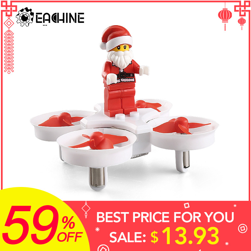 Eachine E011C JJRC H67 Fliegen Santa Claus Mit Weihnachten songs Musik Mini 2,4G Spielzeug RC Quadcopter RTF für Kinder geschenk Präsentieren Mode2