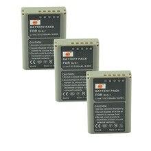 DSTE 3PCS BLN-1 Rechargeable Battery for Olympus E-M5 OM-D E-M1 E-P5  E-M5 II Digital Camera