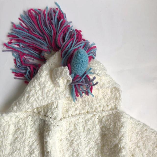 Girl's Warm Unicorn Cotton Winter Hat