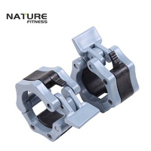 1 Pair Gray 2″ Olympic Weight Lifting Barbell Collars Gym Lock Collars Fitness Body Building Clamps
