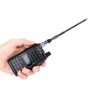 Image 5 - Dlenp Telescopic VHF foldable antenna Astro 320 SMA male hunt tracking Walkie Talkie Antenna Full Length 1M