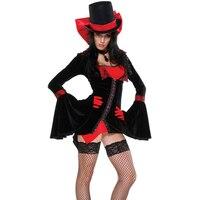 Sexy Vampire Vixen Adult Costume Deluxe Haloween Costumes Adult Womens Magic Moment Costume Halloween Fancy Dress Cosplay Women