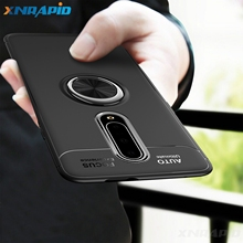 For OnePlus 6 7 Pro Case Soft Silicone With Stand Ring Shockproof Protective Back Cover case for one plus 7 7pro 6T shell