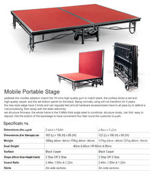 quality strone hotel Movable stage