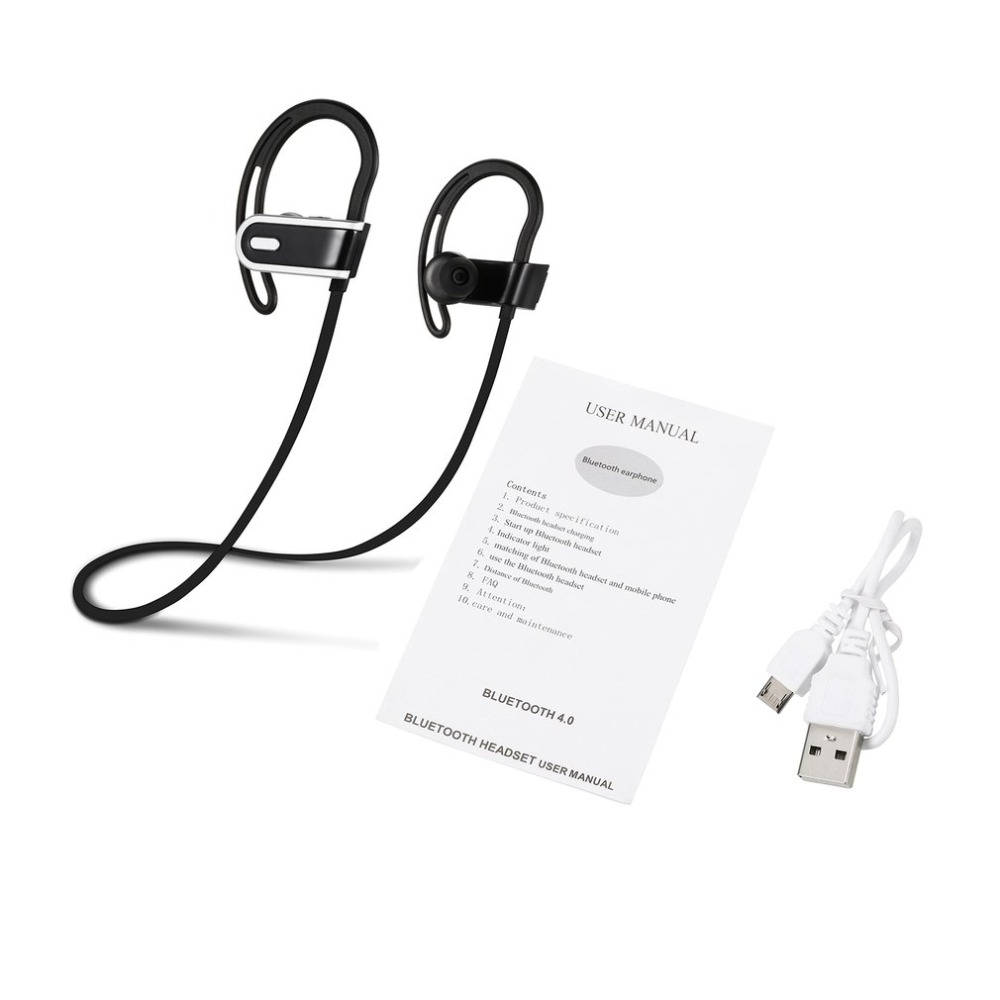 Popular novel H1 Wireless Headphones Wireless Earphone Earbuds Ear Hook Stereo Music Headset Hands-free Sports Earphone With Mic