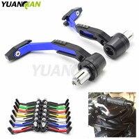 CNC 22mm 7/8 Motorbike proguard system brake clutch levers protect For Yamaha ducati suzuki ktm bmw honda for Triumph Aprilia