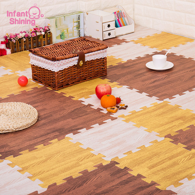 Infant Shining 20PCS/Set Children Puzzle Play Mat Baby Foam Kids Rug Carpet Playmat Educational Toys For Infant 30X30X1CM