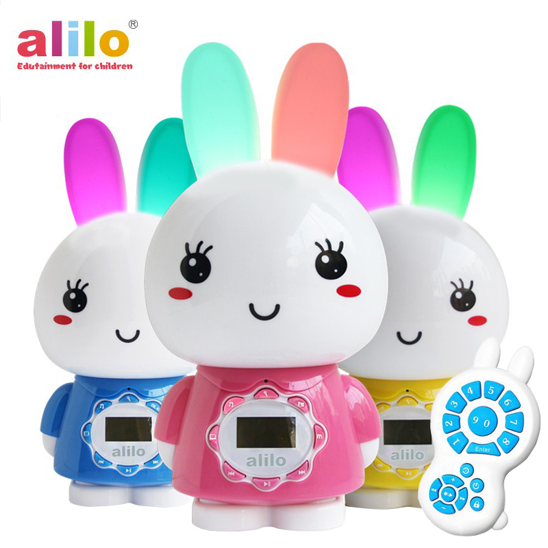 Alilo bunny G7 BIG BUNNY Intelligence Baby toys Rattles mp3 music/story player for newborn baby музыкальная игрушка умный зайка alilo r1 синий alilo