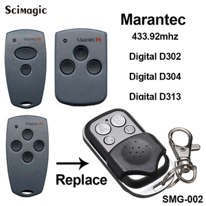 Image 1 - Marantec Digital 302 Marantec Digital 304 תואם שלט רחוק 433.92MHz Marantec מוסך שער פותחן