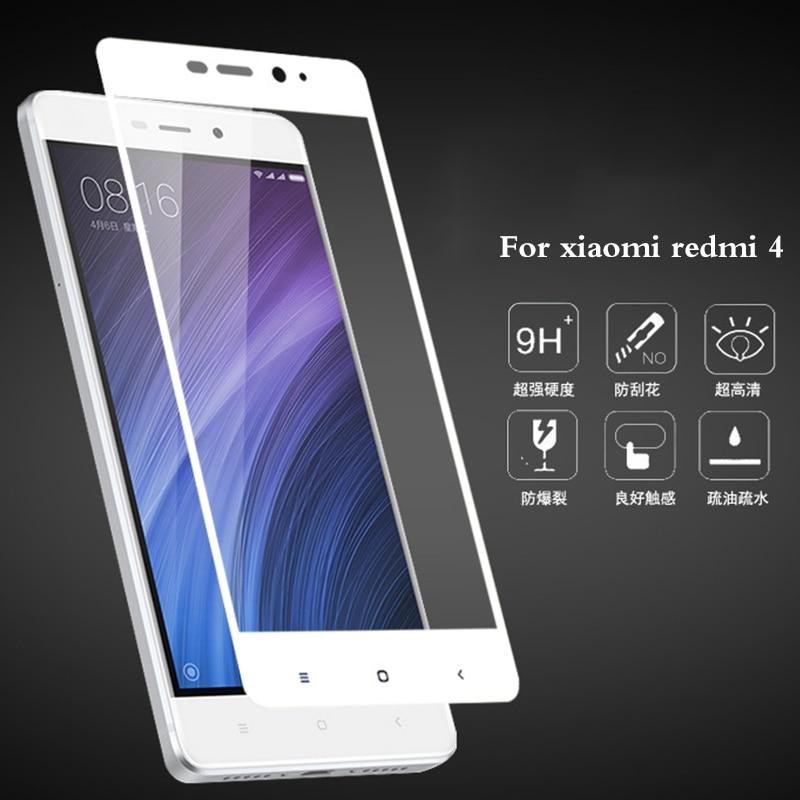 Tempered Kaca Untuk Xiaomi RedMi 4 Pelindung Layar Asli Untuk Xiaomi - Aksesori dan suku cadang ponsel - Foto 4