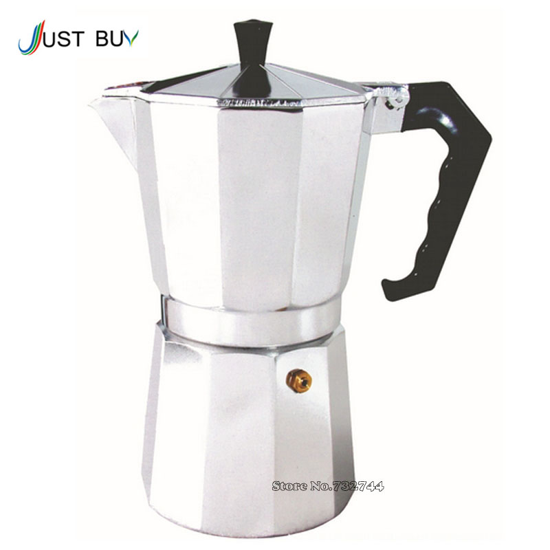 Aluminum 1cup 3cup 6cup 9cup 12cup Italian Stove Top Moka Espresso Coffee Maker Percolator Pot Tool Free Shipping In Makers From Home Liances On