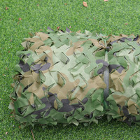 6x6M Woodland Shade Net Military Camouflage Mesh Sun Shelter Army Jungle Hunting Camping Hide Net Outdoor Shade Sail Beach Tent