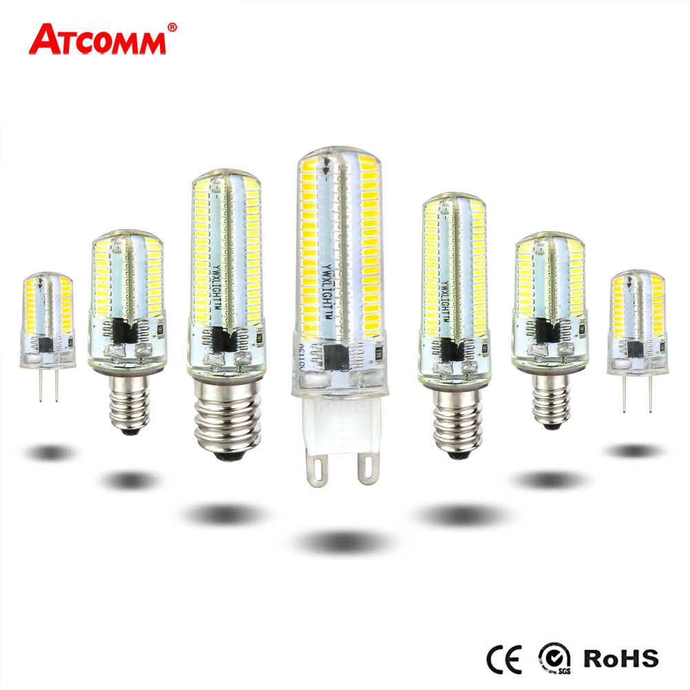 Dimmable LED Mini Corn Bulb G4 G8 G9 E11 E12 E14 E17 Ampoule LED Diode Chandelier Spotlight High Lumen No Flicker 3000K 6000K