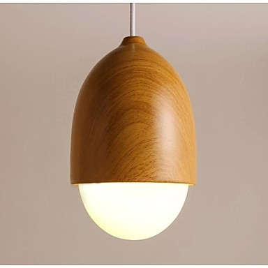Original Wood Color Handing Light  LED Modern Pendant Lamp For Dining Room Lighting,Lustres De Sala e Pendentes new design acrylic modern led pendant lighting lamp with 6 lights for dining room foyer lustres e pendentes de sala ac