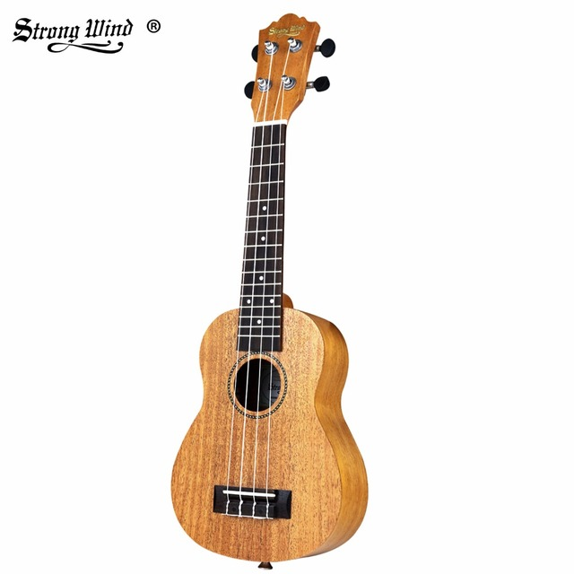 ccb0d9ddf7 Strong Wind Mahogany Tenor Ukulele 21 Inch Beginner Guitar Acoustic  Guitarra Tenor Ukulele 4 Nylon String