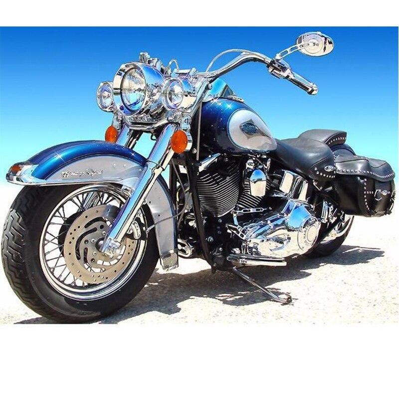 5d Diy Elmas Boyama Motosiklet Tam Kareyuvarlak Elmas Nakış çapraz