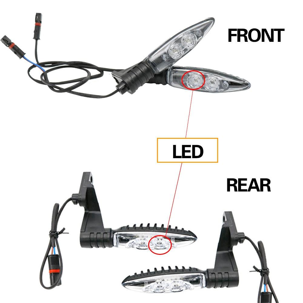 F800GS Motorcycles Indicators Turn Signal Lights LED