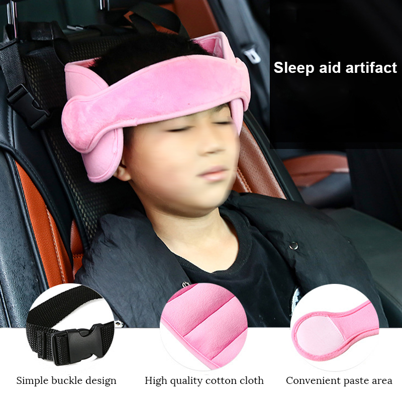 Baby Head Support Head Pillow Part Sleep Aid Belt Protection Pad Child Head Fixed With Car Safety Seat