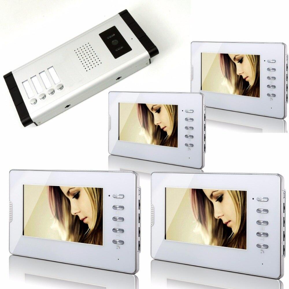 700TVL 7 Inch 1V4 Monitor For Wired Intercom Video Door Phone V70D-520