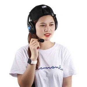 Image 3 - Kebidu 1.9 متر السلكية الكمبيوتر الألعاب سماعة مع مايكروفون casque الصوت كتم التبديل إلغاء الضوضاء سماعة ل PS4 سوني بلاي ستيشن