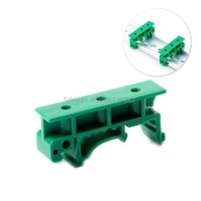 Hot Sale 1 Set of Simple PCB Circuit Board Mounting Bracket For Mounting DIN Rail Mounting 2x Adapter+4x Screws New XQ_7