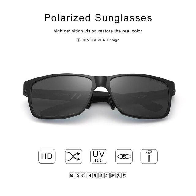 KINGSEVEN Men's Polarized Sunglasses 4