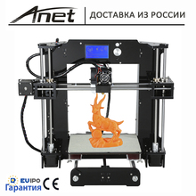 2017 original Anet 3D printer New prusa i3 reprap Anet A6/ Micro SD card plastic as gifts/express shipping from Moscow werehouse