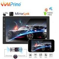 AMPrime Android Car Radio 2 Din GPS Navigation Autoradio 7 2Din Car Multimedia Player USB Mirrorlink Auto Stereo Support DVR BT
