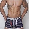 Envío gratis marca shorts hombres, ropa interior boxers shorts, rayas troncos de moda para hombre, 4 color, M / L / XL / XXL