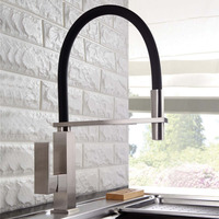 Haliaeetus Flexible Kitchen Faucet Tap Pull Out Kitchen Sink Faucet Hot And Cold Kitchen Mixer Tap